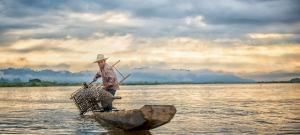 Durva, amit ez a halász átélt – sosem látott lénnyel találta szembe magát