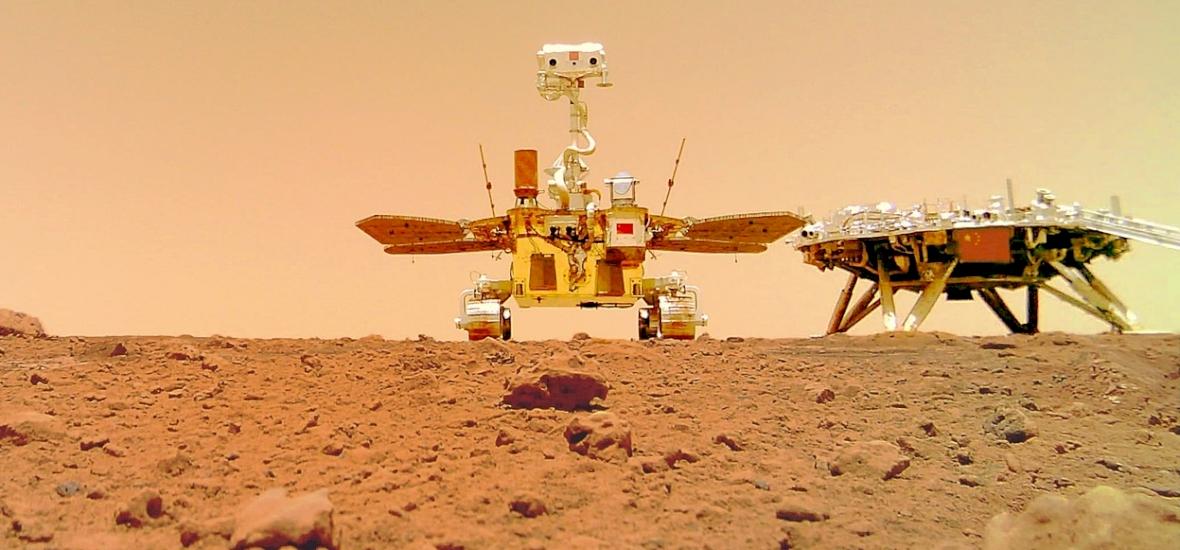 Döbbenetes: ez a robot szelfit küldött a Marsról