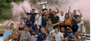 Egy csapatként buliztak együtt az Exatlon bajnokai és kihívói - fotók