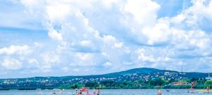Döbbenetes dolgot találtak a Balatonban - videó
