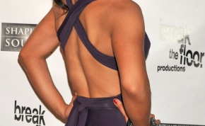Kilátszik! Milyen színű bugyit vett fel a Dancing with The Stars amerikai győztese? - fotó