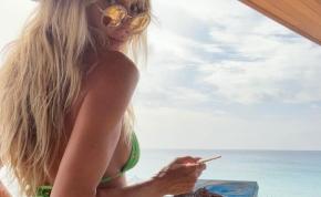 Heidi Klum nem bírja a kánikulát, így teljesen meztelenre vetkőzött – válogatás