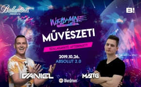 Művészeti ✘ World is Mine Afterparty