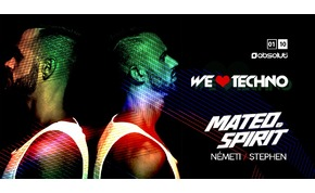 We Love Techno! MATEO & Spirit