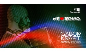 We Love Techno! Gabor Kraft