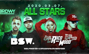 ALL STARS / BSW - Rico & Miss Mood
