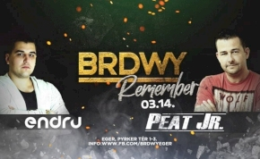 BRDWY Remember ■ Peat Jr x Endru
