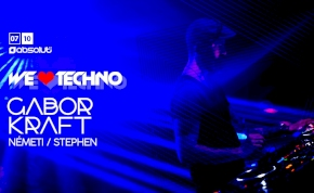 We Love Techno / GABOR KRAFT
