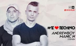 Andrewboy & Manic N / We Love Techno