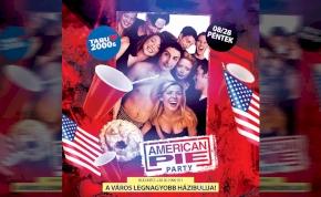 American PIE PARTY - TABU Debrecen