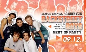 SZEZONNYITÓ • Backstreet Boys / Retro   Akropolis