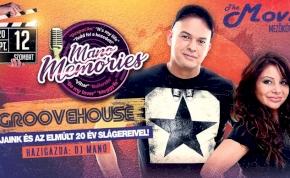 Mano Memories ✘ Groovehouse - Movie Club