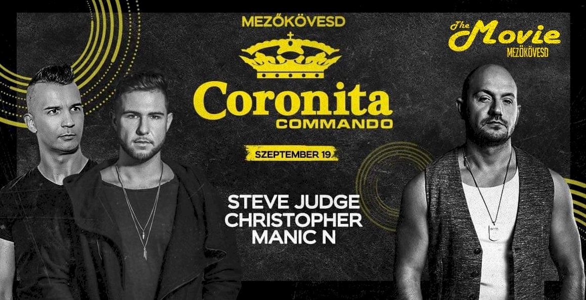 Coronita Commando ✘ Steve Judge, Christopher, Manic N - Movie Club