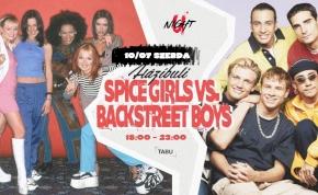 #uNIGHT pres. Spice Girls vs. Backstreet Boys @ TABU Debrecen
