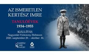 Az ismeretlen Kertész Imre - Tanulóévek 1934-1955 fotókiállítás Debrecenben