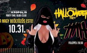 Official Halloween Party • TIAH | Akropolis