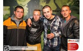 DEBRECEN, PINCE CAFÉ & MUSIC CLUB - 2014. MÁJUS 3., SZOMBAT