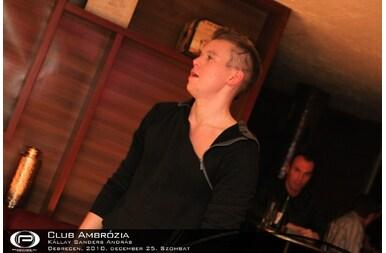 Debrecen, Club Ambrózia - 2010. december 25. Szombat