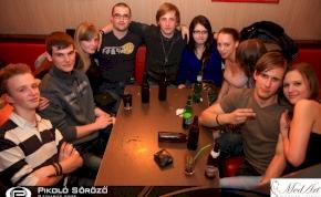 Debrecen, Pikoló Söröző - 2012. április 21. Szombat