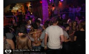 Nyíregyháza, Club Seven - 2010. október 22. péntek