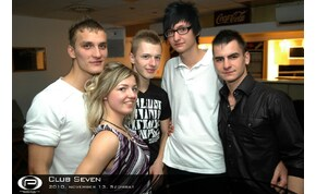 Nyíregyháza, Club Seven - 2010. november 13. Szombat