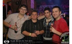 Nyíregyháza, Club Seven - 2010. november 17. Szerda