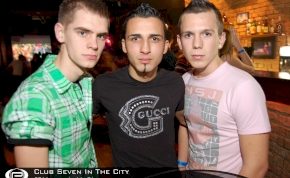 Nyíregyháza, Club Seven In The City - 2011. február 11. Péntek