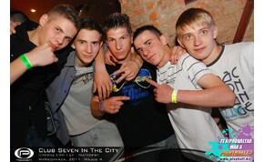 Nyíregyháza, Club Seven In The City - 2011. Május 4. Szerda