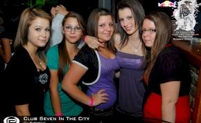 Nyíregyháza, Club Seven In The City - 2011. Szeptember 30. Péntek