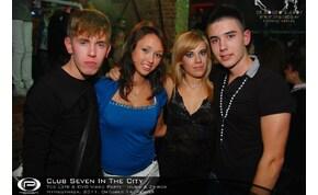 Nyíregyháza, Club Seven In The City - 2011. Október 14. Péntek