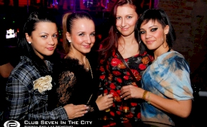 Nyíregyháza, Club Seven In The City - 2011. December 14. Szerda