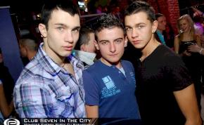 Nyíregyháza, Club Seven In The City - 2012. Január 20. Péntek