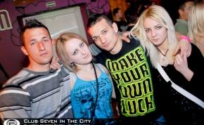 Nyíregyháza, Club Seven In The City - 2012. Március 16. Péntek