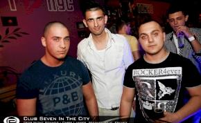 Nyíregyháza, Club Seven In The City - 2012. Március 19. Hétfő