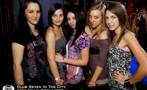 Nyíregyháza, Club Seven In The City - 2012. Április 4. Szerda