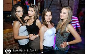Nyíregyháza, Club Seven In The City - 2012. Május 18. Péntek