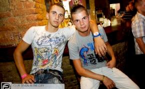 Nyíregyháza, Club Seven In The City - 2012. Augusztus 3. Péntek