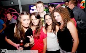 Nyíregyháza, Club Seven In The City - 2012. Október 3. Szerda