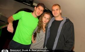 Eger, Resident Club - 2010. november 29., Hétfő