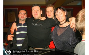 Eger, Leonardo Dance Bar - 2010. december 11., Szombat