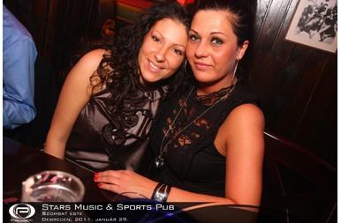 Debrecen, Stars Music & Sports Pub - 2011. január 29. Szombat