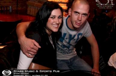 Debrecen, Stars Music & Sports Pub - 2011. október 21-22.