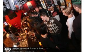 Debrecen, Stars Music & Sports Pub - 2011. november 12. Szombat