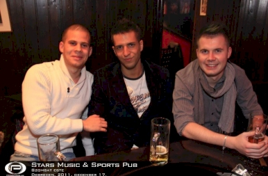 Debrecen, Stars Music & Sports Pub - 2011. december 17. Szombat
