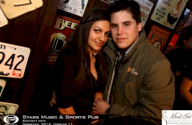 Debrecen, Stars Music & Sports Pub - 2012. február 11. Szombat