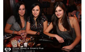 Debrecen, Stars Music & Sports Pub - 2010. december 18. Szombat