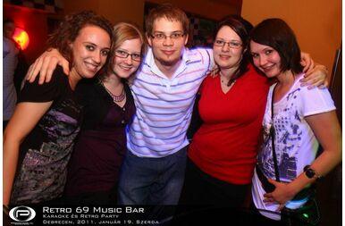 Debrecen, Retro 69 Music Bar - 2011. január 19. Szerda