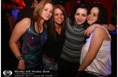 Debrecen, Retro 69 Music Bar - 2011. január 28. Péntek