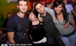 Debrecen, Retro 69 Music Bar - 2011. november 12. Szombat