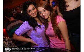 Debrecen, Retro 69 Music Bar - 2011. január 12. Szerda